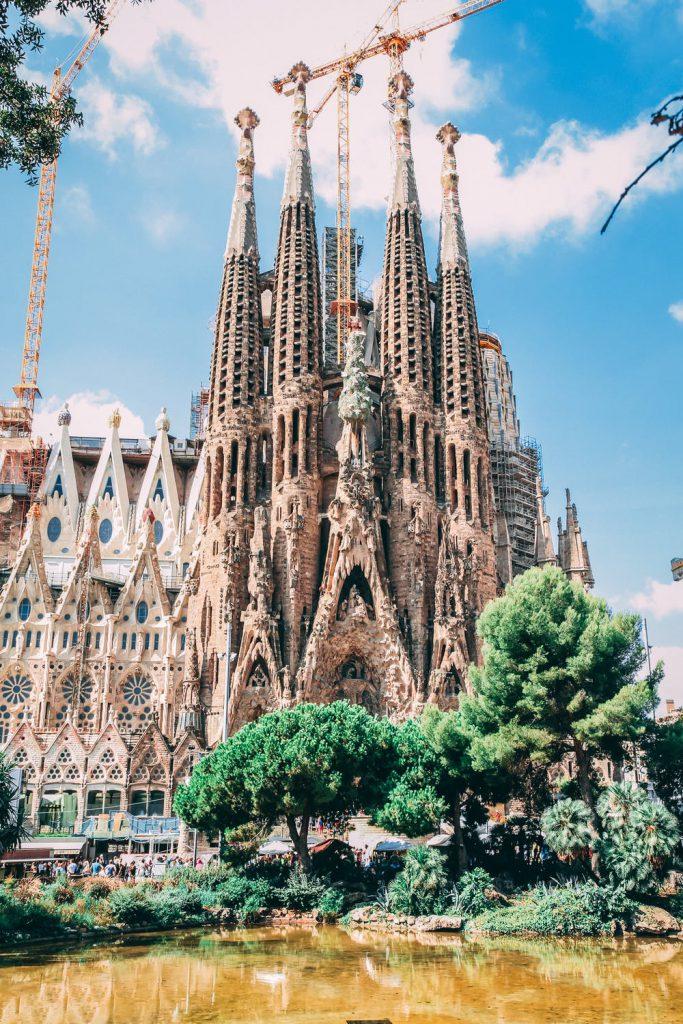 Op vakantie in Spanje