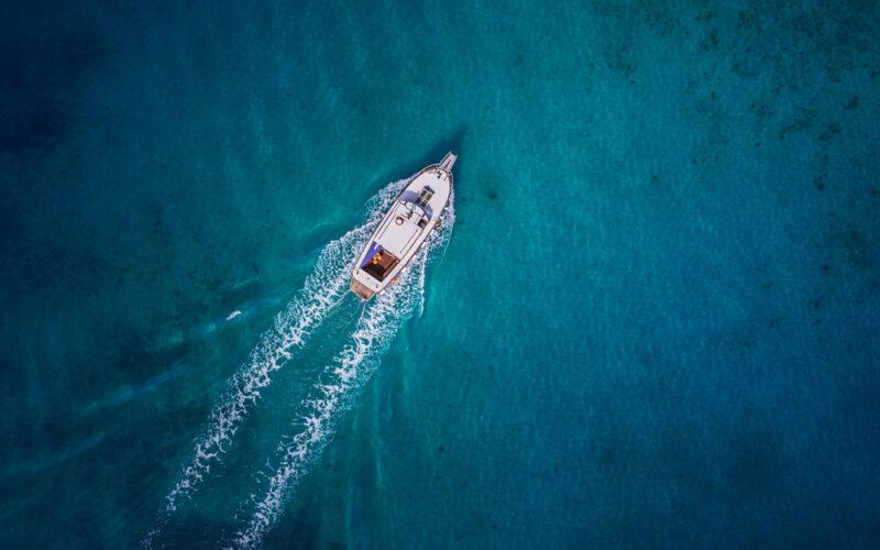 watertank voor op de boot